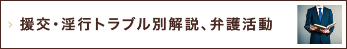 援交・淫行トラブル別解説,弁護活動
